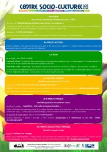 programme Semaine du gout 2015