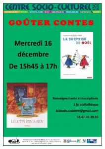 affiche goûter contes décembre 2015