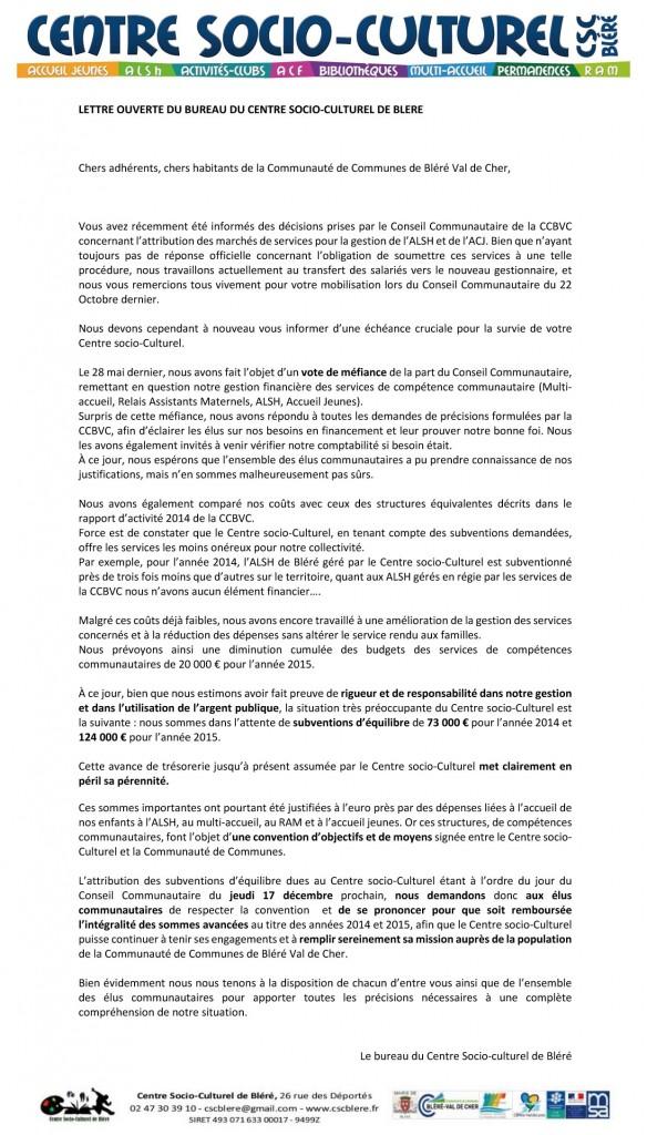 Lettre ouverte14.12.2015