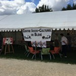 Forum des asssociation de Bléré, stand du Csc 2015