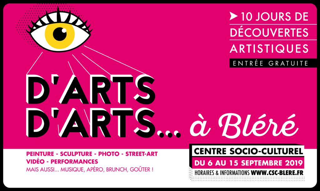 Affiche D'arts d'arts 2019